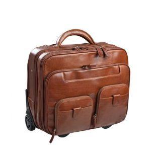 maleta clásica piel
